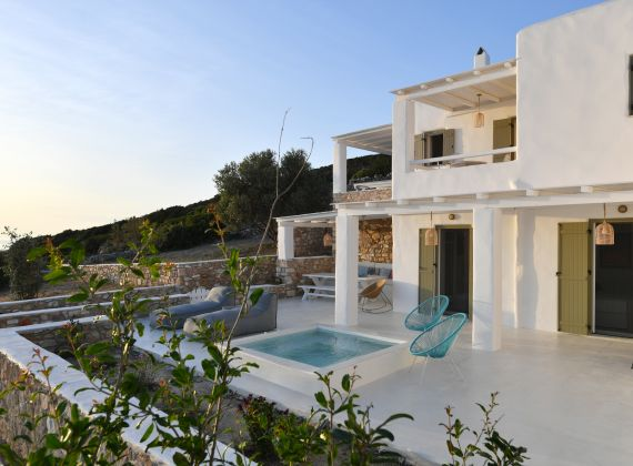 Light Blue Villa 1